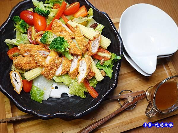 鮮蔬雞柳沙拉芝麻醬-端陽邀月桃園店  (1).jpg