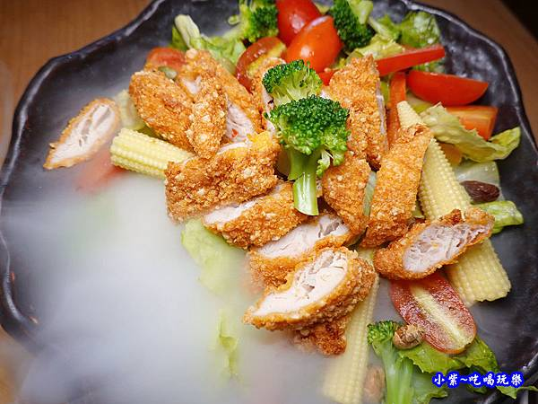 鮮蔬雞柳沙拉芝麻醬-端陽邀月桃園店  (3).jpg