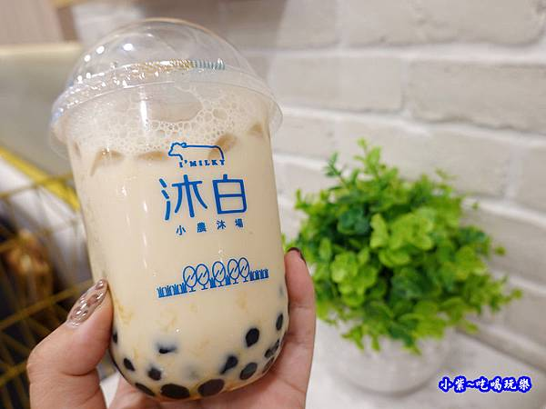 沐白黑糖波霸鮮奶-沐白小農沐場桃園總店 (1).jpg