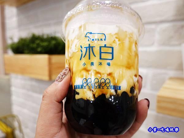 沐白黑糖波霸鮮奶-沐白小農沐場桃園總店 (7).jpg