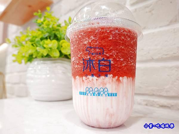 草莓鮮奶-沐白小農沐場桃園總店 (3).jpg