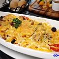 焗烤茄汁小牛筆管麵(加麵)-洋城義大利餐廳慶城店 (3).jpg