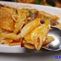 焗烤茄汁小牛筆管麵(加麵)-洋城義大利餐廳慶城店 (6).jpg
