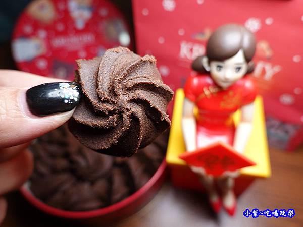 Krunchy曲奇餅-可藍奇聖誕圓圈曲奇餅(巧克力口味) (2).jpg