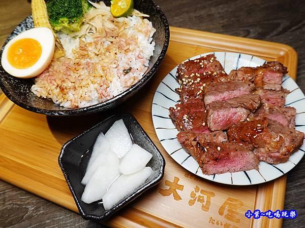 翼板牛排丼-大河屋燒肉丼串燒-微風本館 (6).jpg