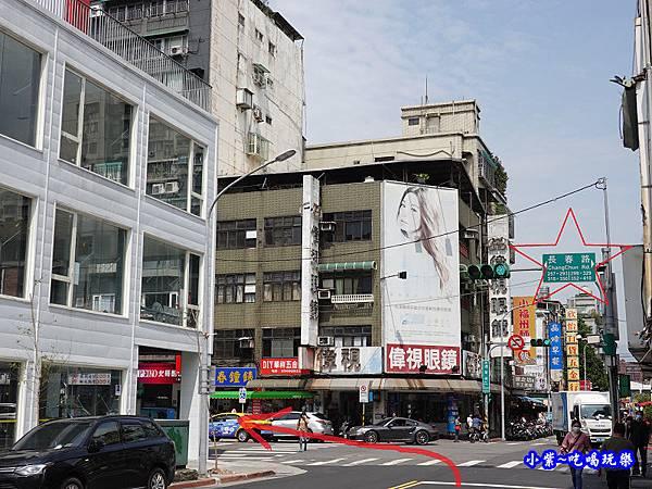 捷運南京復興1號出口往神仙牛肉麵1 (3).jpg
