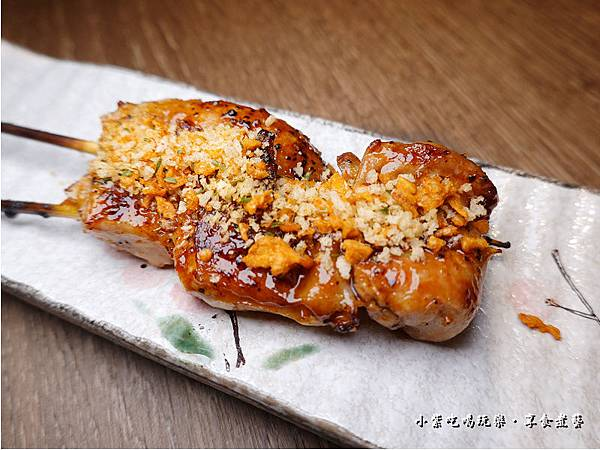 蒜香雞腿串-大河屋燒肉丼串燒南崁店.jpg