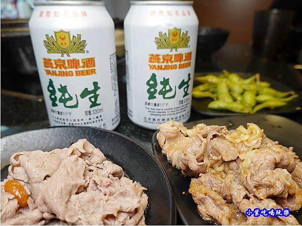 加價燕京純生啤酒-金大鋤壽喜燒府中店(吃到飽) (1).jpg
