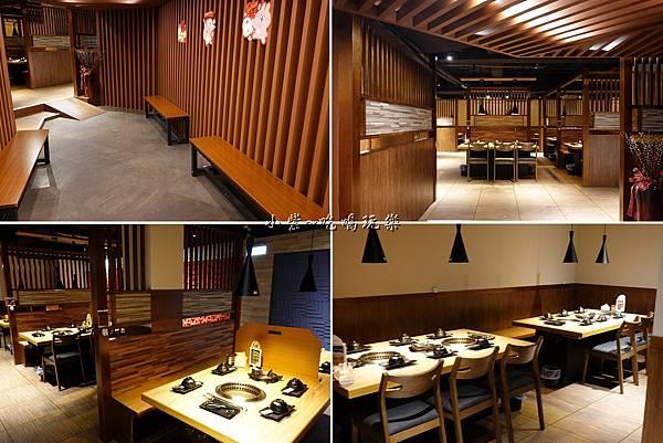用餐環境-赤富士無煙燒肉鍋物吃到飽.jpg