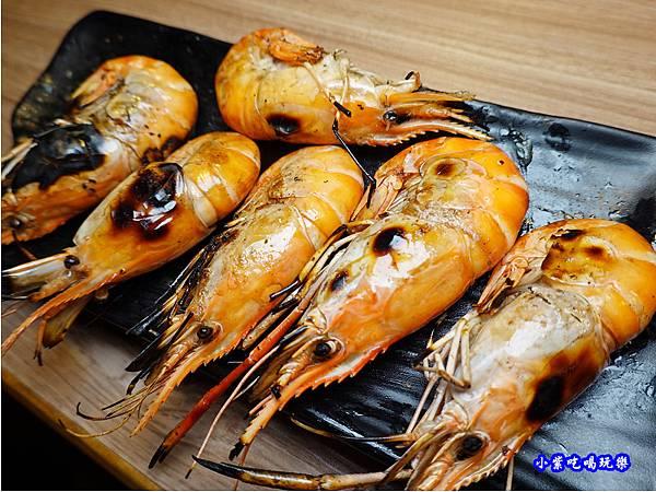 烤泰國蝦-赤富士無煙燒肉鍋物吃到飽 (2).jpg