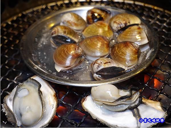 薑絲蛤蜊-赤富士無煙燒肉鍋物吃到飽 (3).jpg