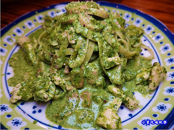 手作青醬奶油雞肉寛麵-歐義式義大利餐廳 (2).jpg