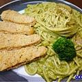 檸檬雞柳條青醬義大利麵-fun晴輕食餐廳 (3).jpg