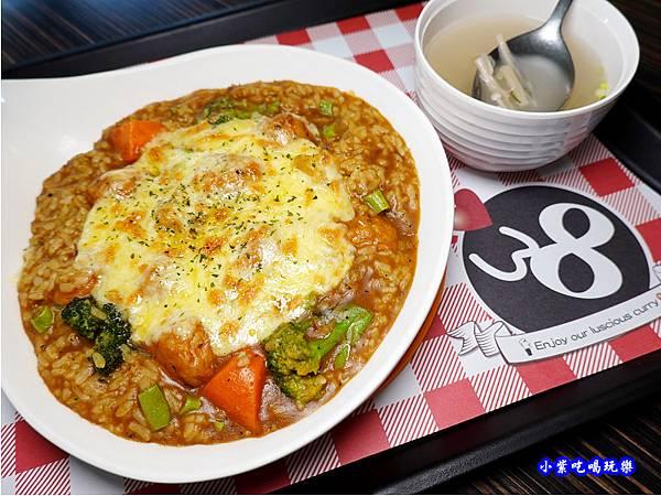 焗烤起士肉丸子咖哩飯-Mr38咖哩東海店 (3).jpg