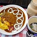 歐姆蛋肉醬咖哩飯-Mr38咖哩東海店 (2).jpg