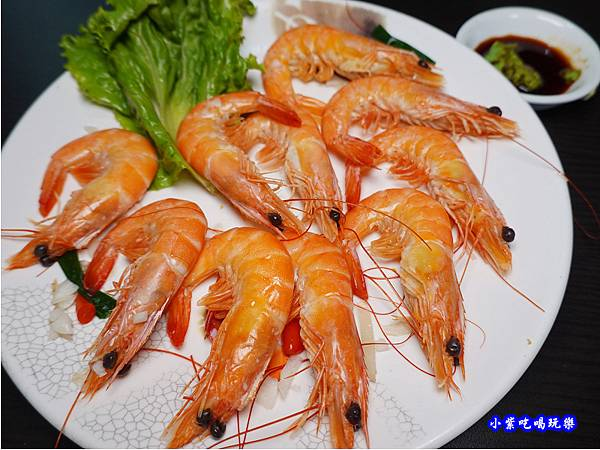 打卡送,白灼白蝦-山雞城庭園餐廳.jpg