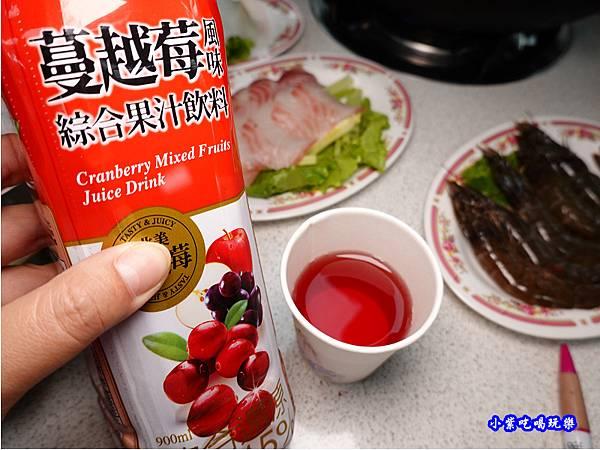 解膩飲品-洪金小紅莓自助式石頭火鍋城.jpg