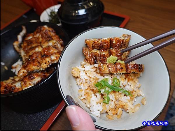 蒲燒鰻第二吃-三河中川屋台北店  (2).jpg