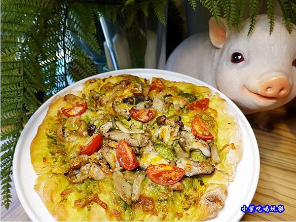 田園青醬野菇披薩-樂野食 (2).jpg