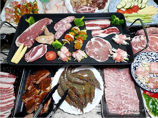 宅烤肉蒙古紅烤肉組與單買肉品海鮮.jpg