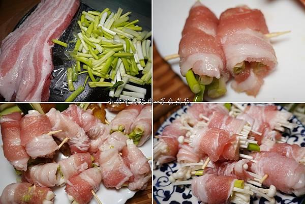 蒙古紅豬五花串蔥、金針菇.jpg