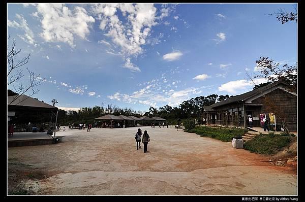 望過去的公學校操場 和 公學校