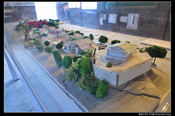 霧社街模型
