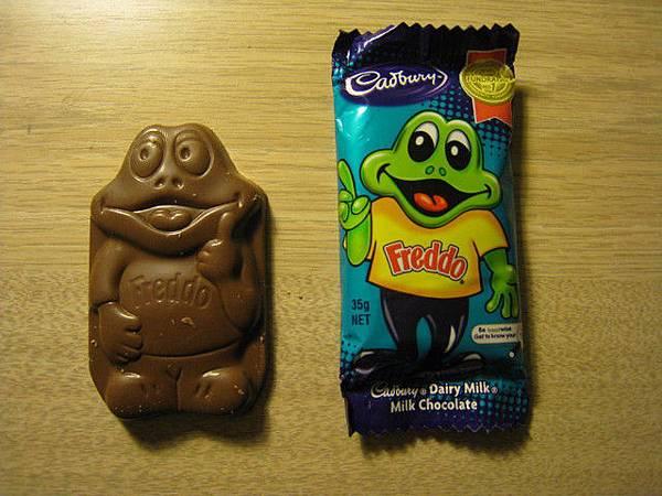 第一天來時吃的巧克力啦