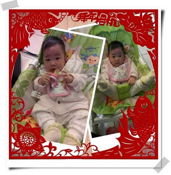 (6M0D)小寶貝今天滿六個月了! 阿呱新年快樂,半歲生日快樂.jpg