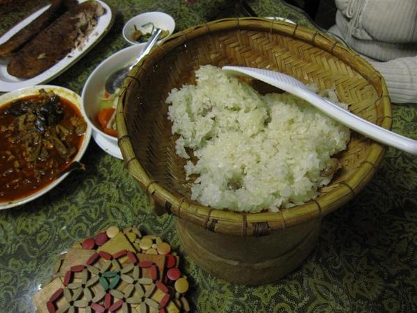 好吃的原住民糯米飯