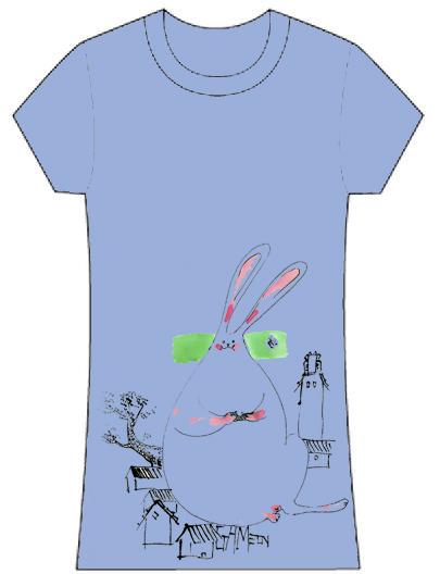 很明顯是在暗喻自己是隻宅兔