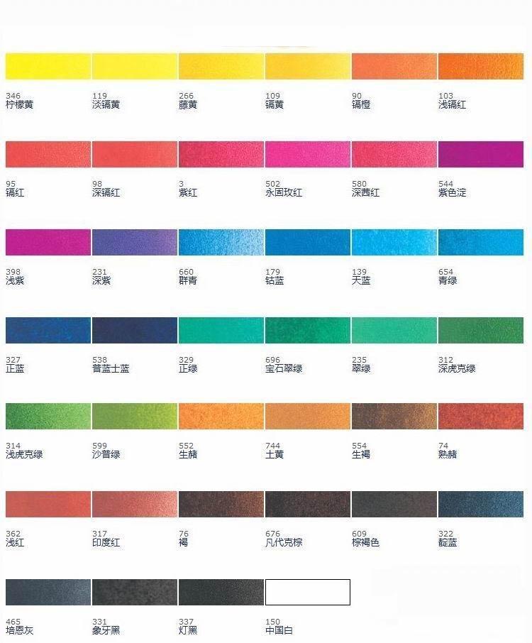 學生級 英國 Winsor Amp Newton 溫莎牛頓 透明水彩 Water Color 「不貳過」 多寶格