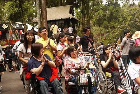 與乘客們互動同樂,是每一次無障礙旅遊最動人的樂章。