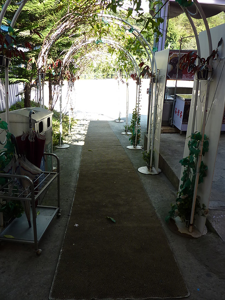 P1060587故事館的後門口,有設置無障礙坡道,可以直接到後面的場景區.JPG