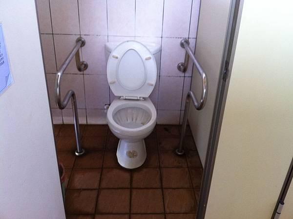 IMG_0281花海上的無障礙公廁2,扶手還不錯.JPG