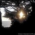 轉角與夕陽