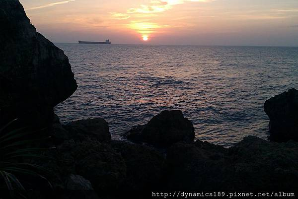 小自然的夕陽2