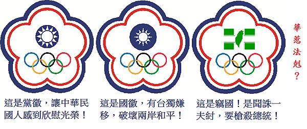 中華台北奧運旗