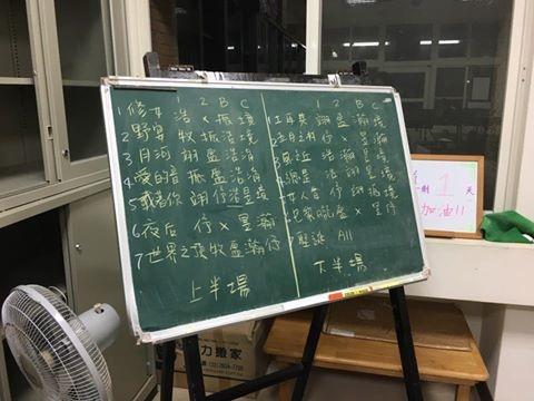 舊鐵道_曲目表+