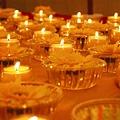 B 祈願法會 莊嚴的會場...6 供燈與供花.JPG