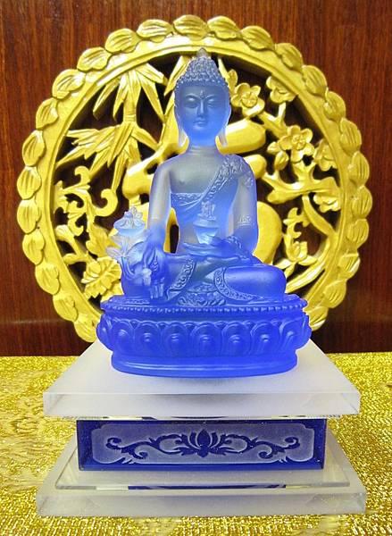 藥師佛琉璃佛像 ...1.JPG