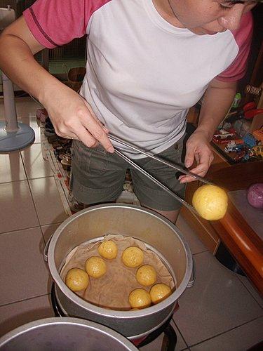 金色南瓜饅頭
