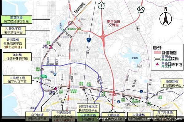 106.2.19高雄鐵路地下化工程在高雄市區,沿線長約15.37公里,完成後,高雄市原本有10座陸橋加2座地下道就完成歷史性任務.jpg