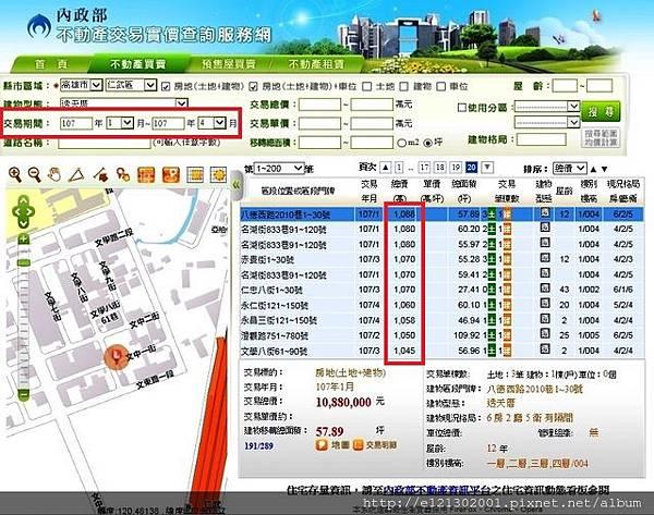 107.6.24實價登錄揭露仁武區別墅房價多數超過千萬元1.jpg