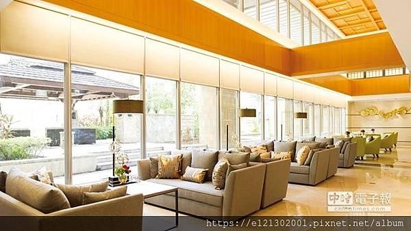 107.12.25淡水麗格產後護理之家面對峇里島度假風格中堂的一樓大廳.jpg