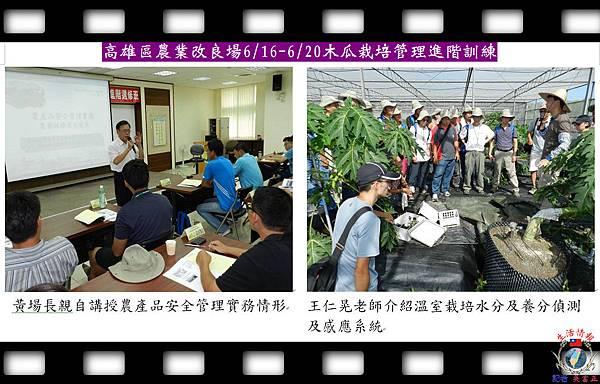 20140630-高雄區農業改良場0616-0620木瓜栽培管理進階訓練01