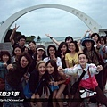 旺福-跨海大橋前留影