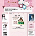 霝兒自製版型NO.10【粉嫩Panda】(三欄/左右欄皆宜)