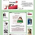 霝兒自製版型NO.16【Cute puppy】(三欄/左右欄皆宜)