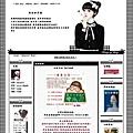 霝兒自製版型NO.17【美女黑白配】(三欄/左右欄皆宜)